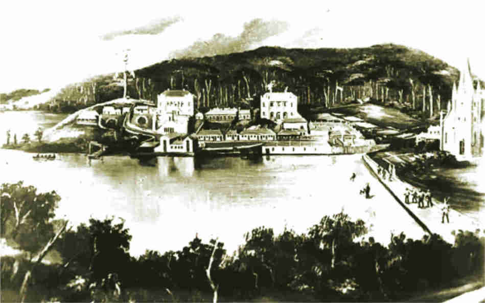 Port Arthur in 1838